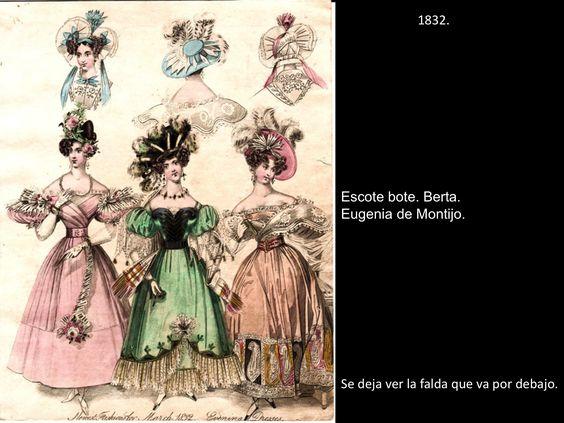 H. de la moda del XIX