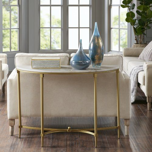 Bordeaux Console Table Sofa End Tables Marble Console Table