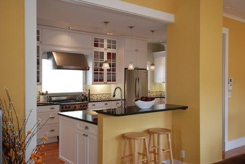 Resultado De Imagen Para Colores Para Pared Cocina Comedor Con Poca Luz Natural Colores De Pintura De Interior Cocinas De Casa Cocinas Coloridas
