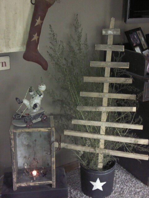 Booth #555: PRIMITIVE TOBACCO STICK TREE | Craft projects ...