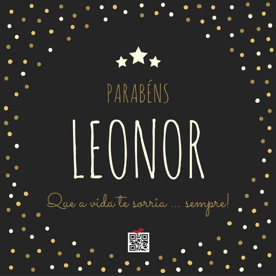 Parabéns Leonor