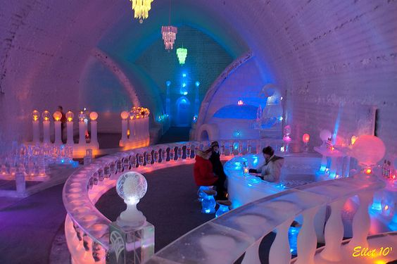 Chena Hot Springs Resort. North of Fairbanks, AK. Want to go enjoy the ice bar and see the northern lights