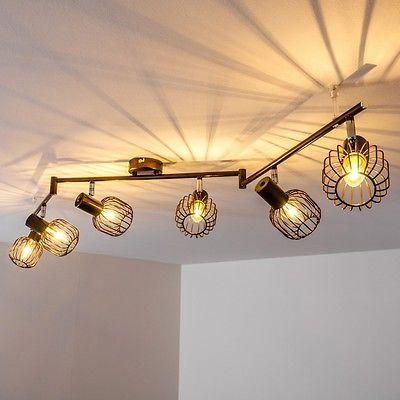 Vintage 8-flammige Decken Lampe Leuchte Flur Schlaf Wohn Zimmer Raum Beleuchtung