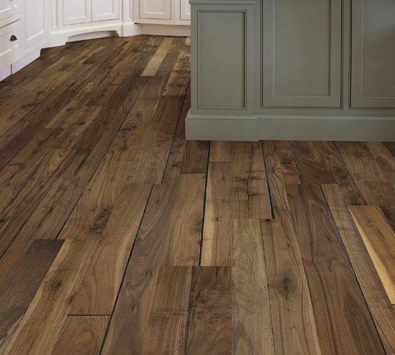 FLOOR: Love This Natural, Rustic Wooden Floor With Its