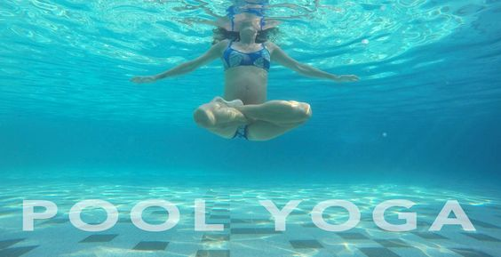 Yoga Sequence of the month: #poolyoga #summerspecial www.yogalovebylisa.com