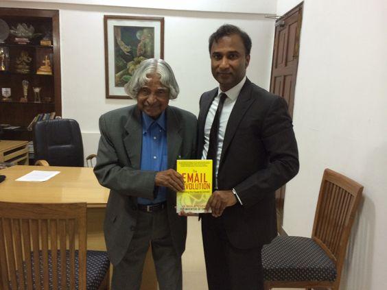 Dr. VA Shiva Ayyadurai mit herausragender Wissenschaftler und ehemaliger Präsident von Indien, Dr. APJ Abdul Kalam.