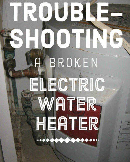 Hot Water Heater Reset Button Stuck Electric Water Heater Water Heater Repair Water Heater Maintenance