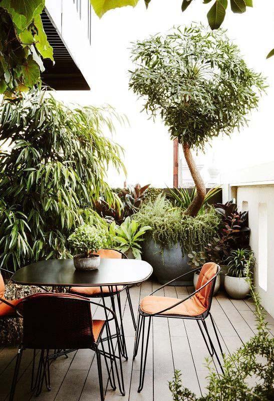 Kleiner Garten 60 Modelle Und Inspirierende Designideen Kleinen Raumgartnerei Garten Und Outdoor Patio Garten
