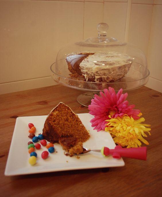 Cocinando con niños   Carrot Cake