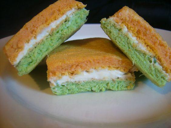 Les sandwichs tricolores de l'apéro