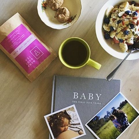 Breakfast done right for a Mama to be!  Our RASPBERRY LEAF BLEND has been developed by our naturopath to be enjoyed by Mamas in their third trimester to prepare the uterus for birth. It is known to assist with strengthening and toning the uterine muscles for birth, meaning you may have more efficient contractions. It is also great post birth to help with excess bleeding and when your uterus contracts back down.  This blend has a small amount of nettle to help with water retention AKA kankles ...: