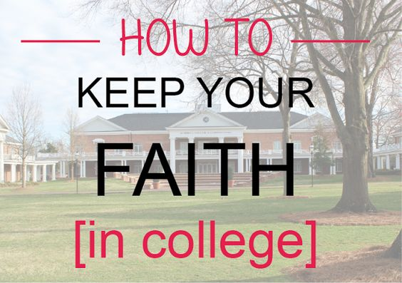 Gina Alyse: How to Stay Christian in College