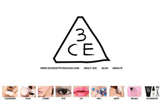 3CE - nhãn hiệu đình đám của Hàn Quốc