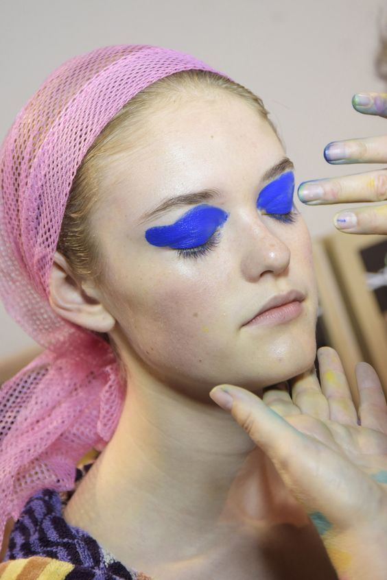 cool Beauty at Missoni Spring / Summer 2016 Women's [runway]: