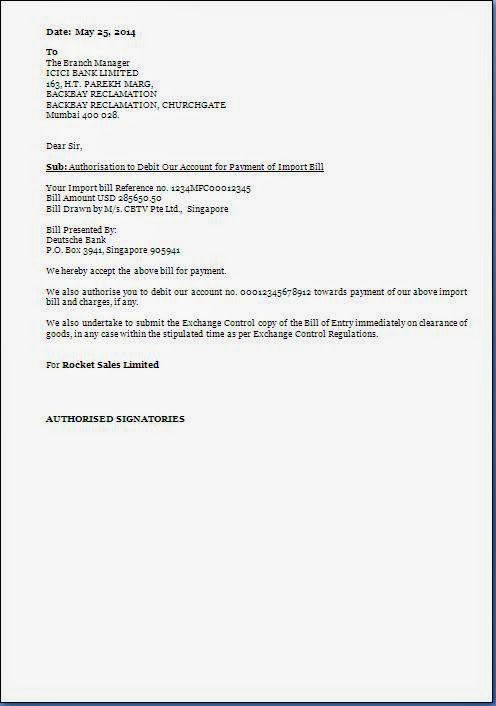 letter format sample authorization claim credit card how make pdf