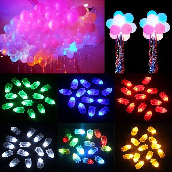 50 un. Impermeable Luz Led para Linterna de papel Ballon Boda Fiesta Decoración Caliente | Hogar y jardín, Tarjetas y suministros para fiestas, Suministros para fiestas | eBay!