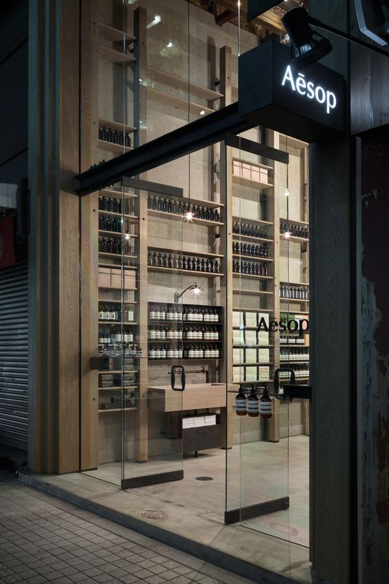 aesop stores in japan by shinichiro ogata of simplicity W - bambus mobel design siam kollektion sicis bilder