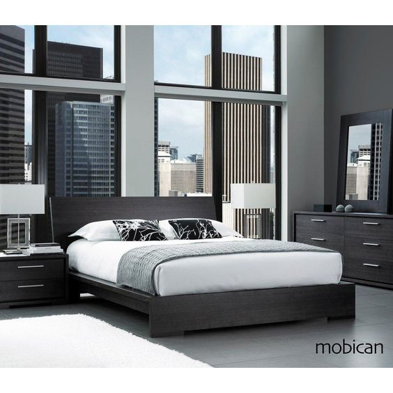 Sonoma modern wood bedroom collection by Mobican Furniture ...