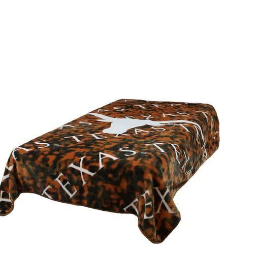 University of Texas Longhorns Twin Comforter Throw Blanket