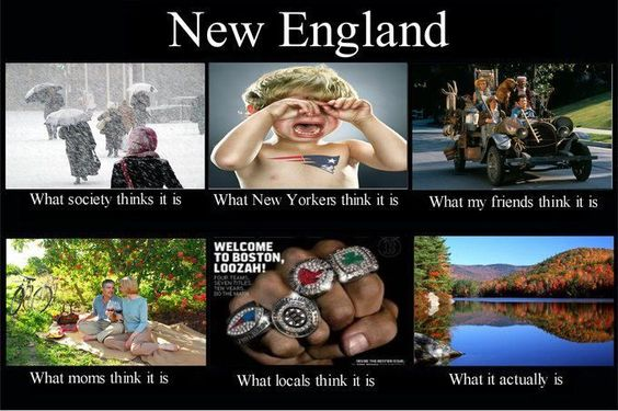 Gotta Love New England