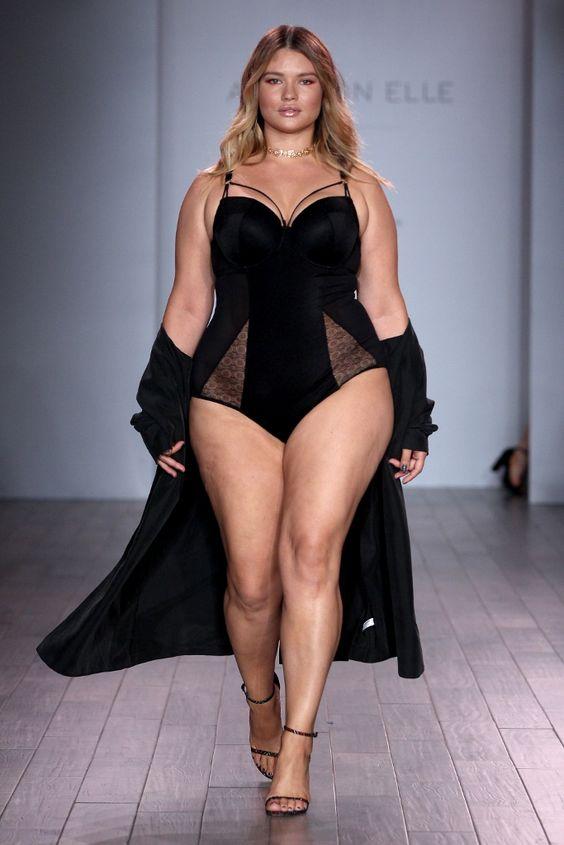 tara lynn take over new york fashion week | wwc woman with curves