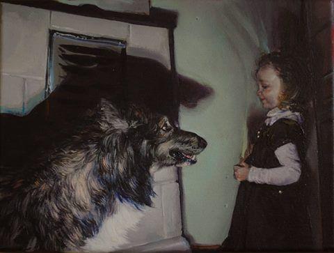 Marcin Cienski, You Won't, 2012 (Oil on canvas)