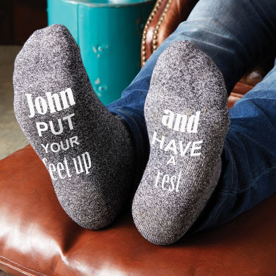 Men's personalised novelty socks | hardtofind.