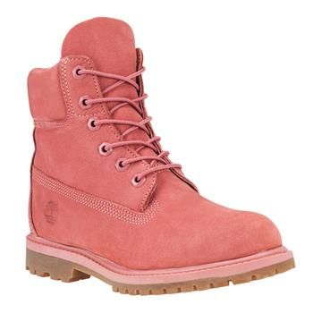 Timberland - Boots Heritage 6-inch Monochromes Femme - Rose