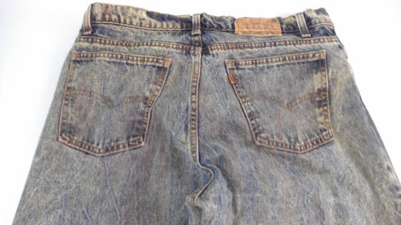 #Levis Jeans Mens SZ 36 USA Made 35 x 31 Actual by 1900sVintage http://etsy.me/1TzfHHi #vintage #vintagejeans #tbt 1900svintage.com