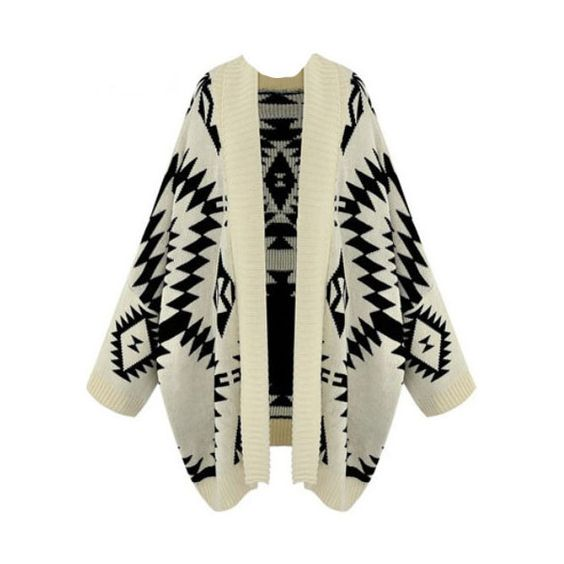 Aztec Sweater Cardigan ($84) ❤ liked on Polyvore featuring tops, cardigans, jackets, outerwear, sweaters, casacos, aztec-print tops, aztec cardigans, aztec sleeve cardigan and short-sleeve cardigan