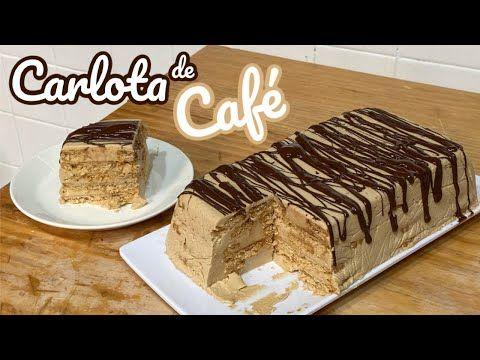 Carlota De Café Postre Frío Youtube Postres Fríos Receta De Pastel Frio Postres Congelados