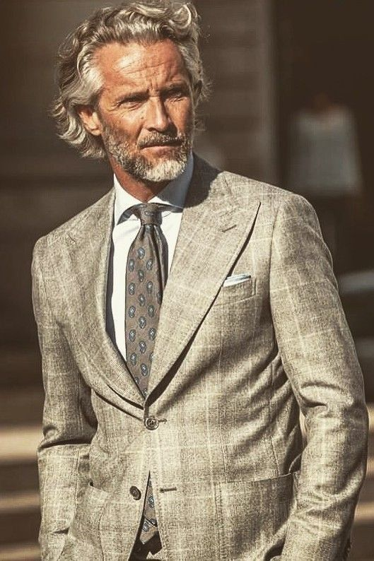 Pin By Leandrrodionov On Hair Hipster Mens Fashion Grey Hair Men Mens Fashion