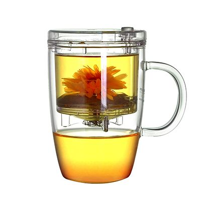 Transparent Glass Tea Infuser