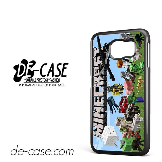 Ind Minecraft All Animal Character DEAL-5584 Samsung Phonecase Cover For Samsung Galaxy S6 / S6 Edge / S6 Edge Plus