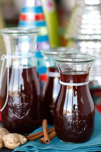 Homemade Ginger Spice Syrup | Recipe | Homemade, Sodas and ...