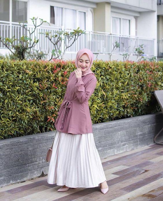 Ootd Baju Pink