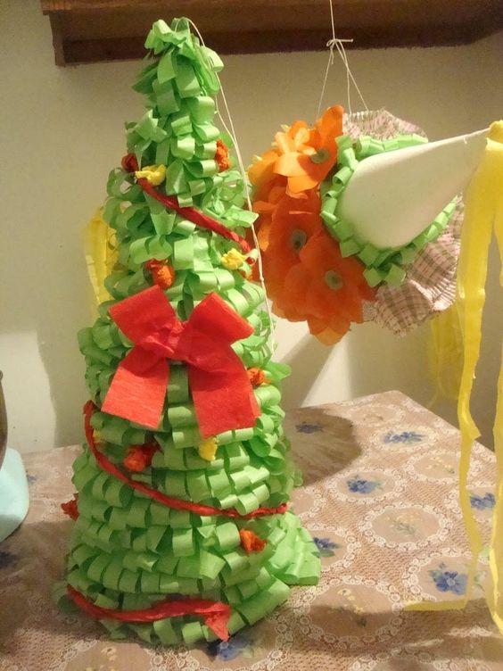 Como decorar una piñata parte 2/2