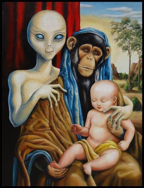 Bizarre Conspiracy Theories - Alien DNA