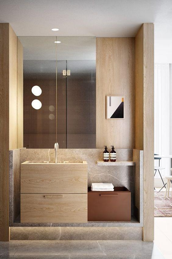 Notus Notes Powder Room Notus Architects Washroom Design Bathroom Interior Restroom Design