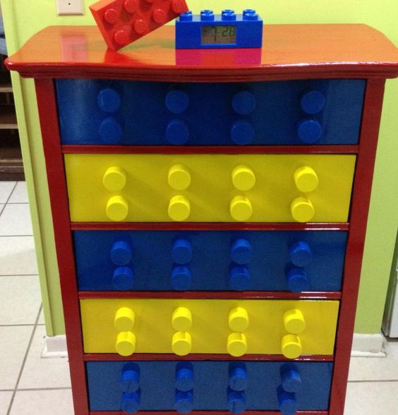 Lego Dresser idea, so cool