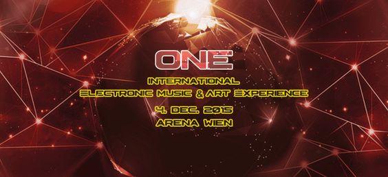 Tickets für █▓▒░░ ONE ░░▒▓█ 2015 International Electronic Music & Art Experience am 4.12. in Wien