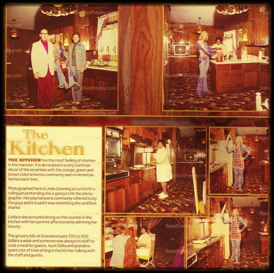 Kitchen Upstairs: RareElvisPresley.com :: In The Graceland