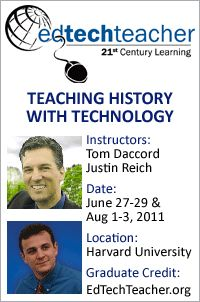 Teaching History with technology.  Great site with links