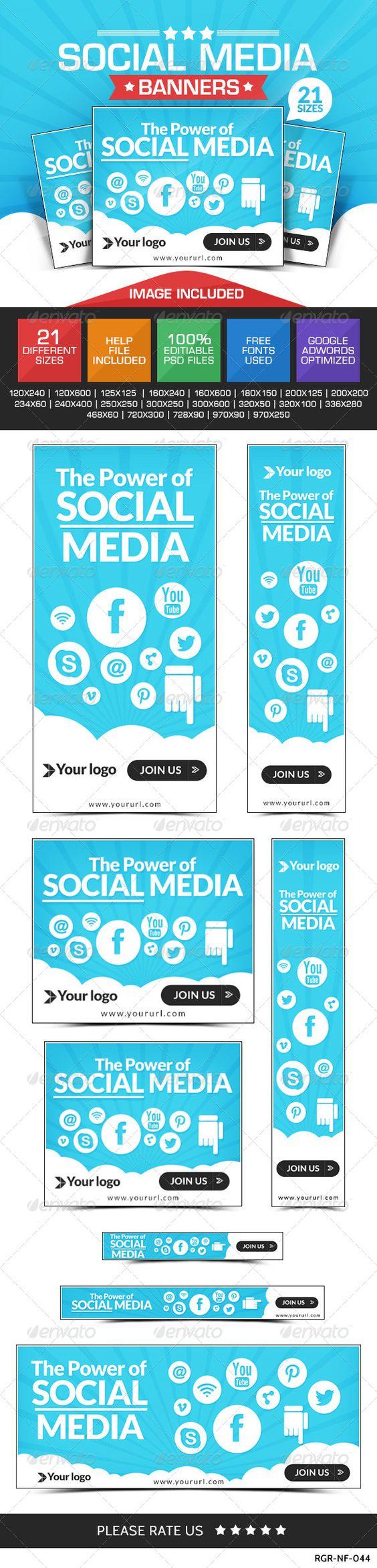 Social Media Marketing Banners | Social media marketing ...