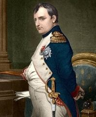 """You can do anything with bayonets, except sit on them"" Napoleon Bonaparte on military tactics of the day"