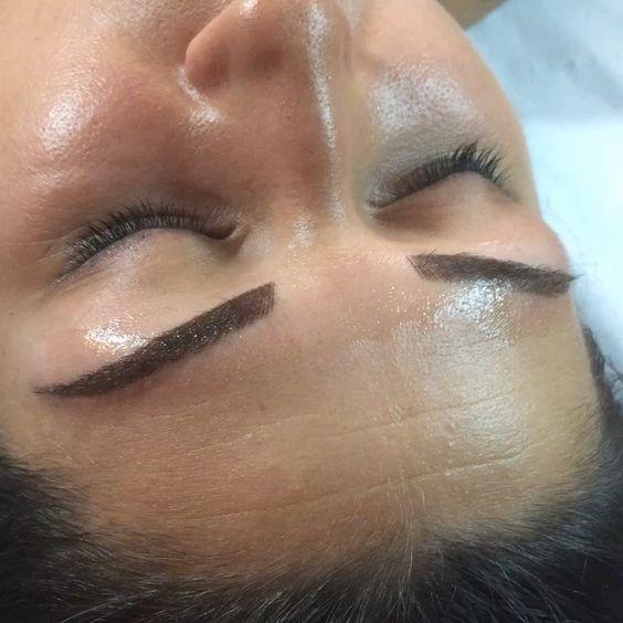 Maquillage permanent des sourcils en poil poil au bar sourcils b ziers by bab bab - Maquillage permanent sourcils poil a poil ...
