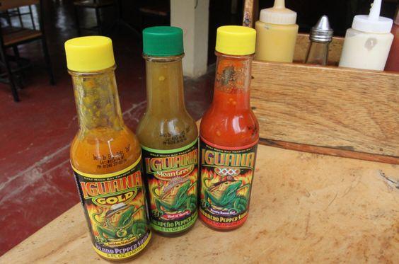 hot sauces giled iguana  - Costa Rica