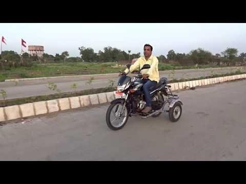 Side Wheel Attachment Kit For Bajaj Platina Bike Arai Approved