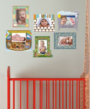 Hanging special moments on the wall has never been easier than with this unique frame decal set. Each frame is printed on high-quality paper with ink that won't fade or run and is repositionable without damaging the walls, so changing photos or moving the display is simple.