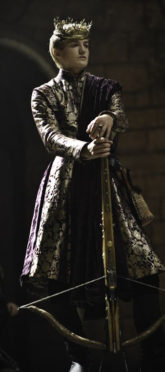 Jack Gleeson as Joffrey Baratheon (Game of Thrones) I refuse to put him on the Baratheon board cause he is all Lion, not a big of black and yellow stag.